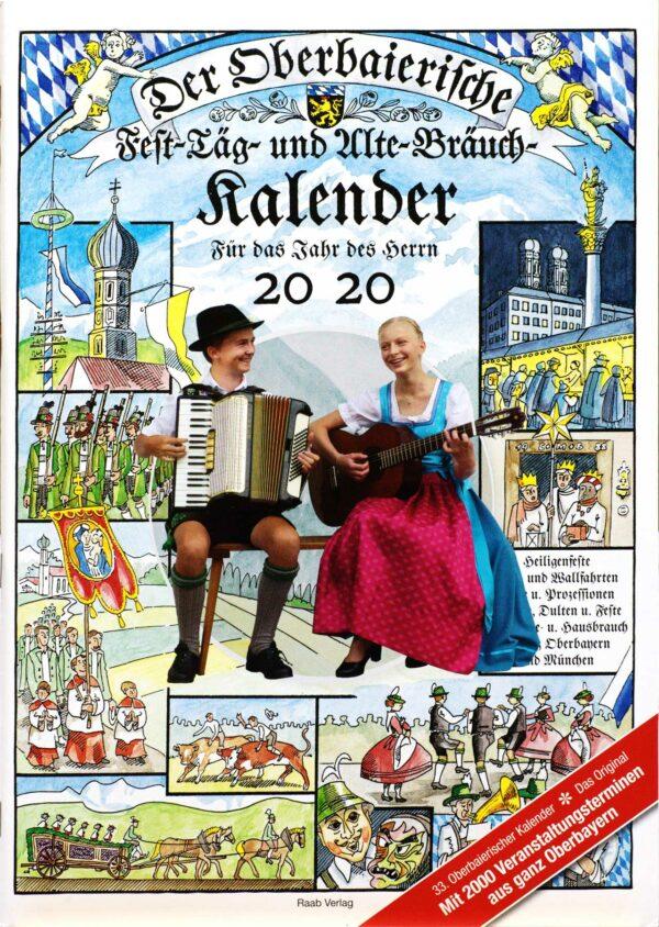 Raab Verlag Oberbaierischer Kalender Ausgabe Titel 2020