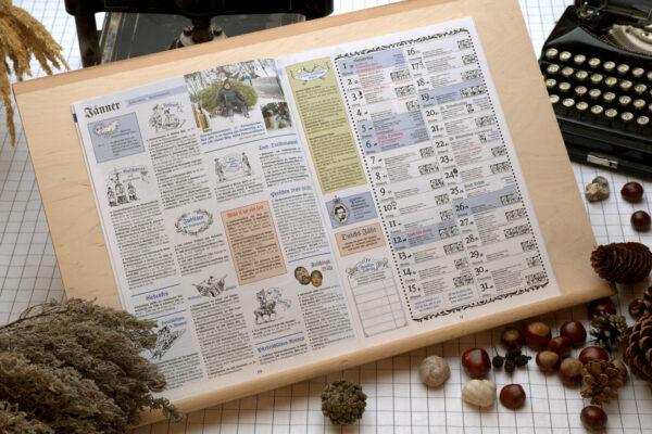 Raab Verlag Oberbaierischer Kalender