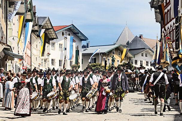 Trachtenumzug in Bad Tölz