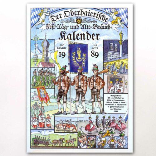 Der Titel des Oberbaierischen Kalenders 1989