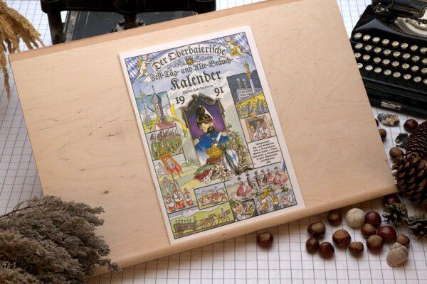 Titel des Oberbaierischen Kalenders 1991