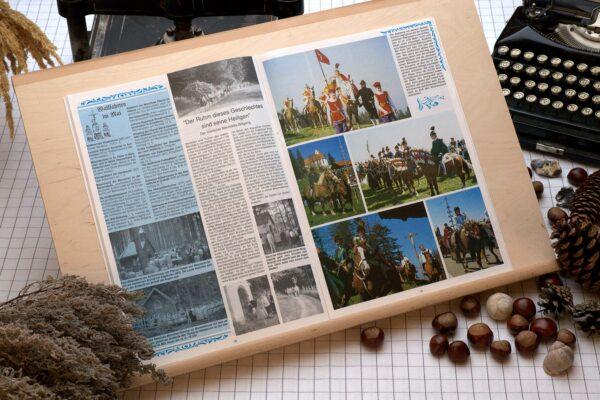 Der Oberbaierische Kalender 1991 mit vielen Fotos