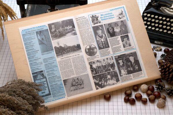 Der Oberbaierische Kalender 1991 Innenseite