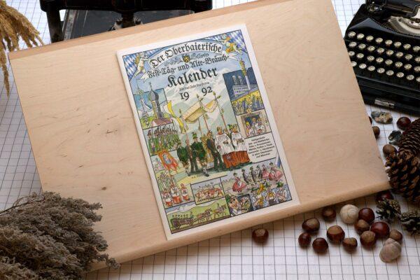 Titel des Oberbaierischen Kalenders 1992