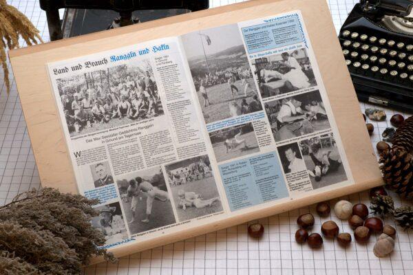 Der Oberbaierische Kalender 1992 Innenseite