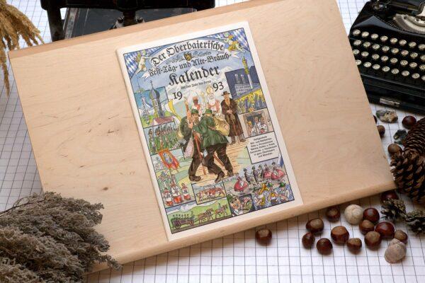 Titel des Oberbaierischen Kalenders 1993