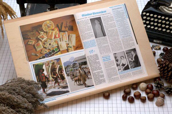 Der Oberbaierische Kalender 1993 mit vielen Fotos