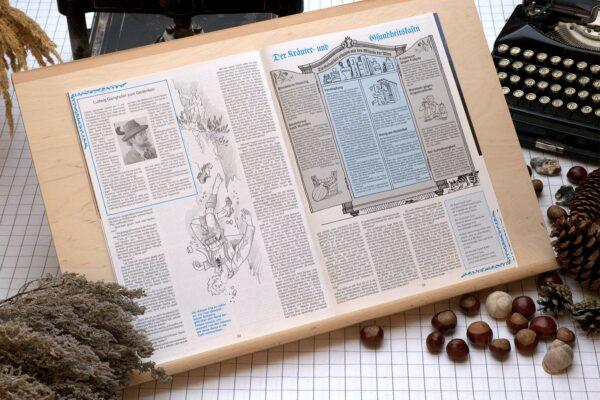 Der Oberbaierische Kalender 1993 Innenseite