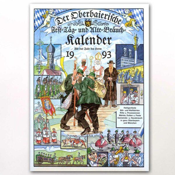 Der Titel des Oberbaierischen Kalenders 1993