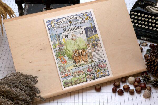 Titel des Oberbaierischen Kalenders 1994