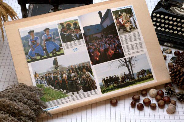 Der Oberbaierische Kalender 1994 mit vielen Fotos