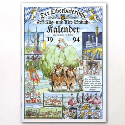 Der Titel des Oberbaierischen Kalenders 1994