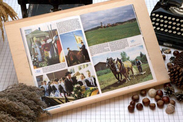 Der Oberbaierische Kalender 1995 mit vielen Fotos