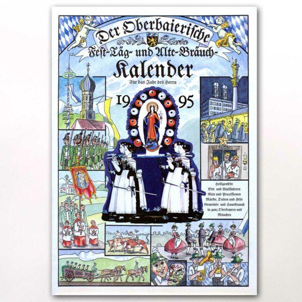 Der Titel des Oberbaierischen Kalenders 1995