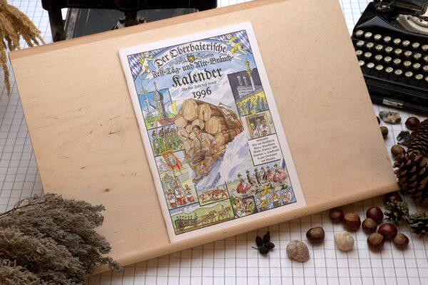 Titel des Oberbaierischen Kalenders 1996