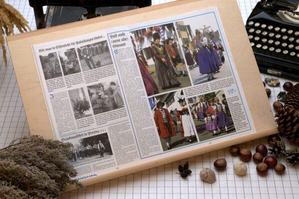 Der Oberbaierische Kalender 1996 mit vielen Fotos