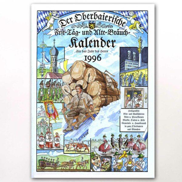 Der Titel des Oberbaierischen Kalenders 1996