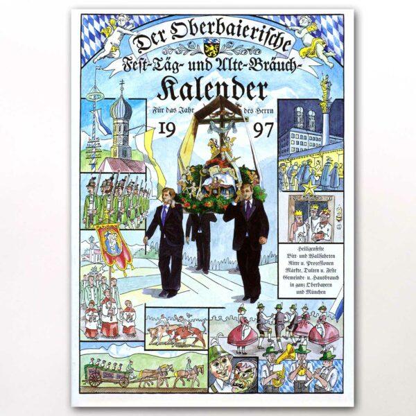 Der Titel des Oberbaierischen Kalenders 1997