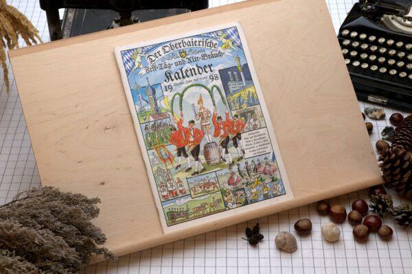 Titel des Oberbaierischen Kalenders 1998