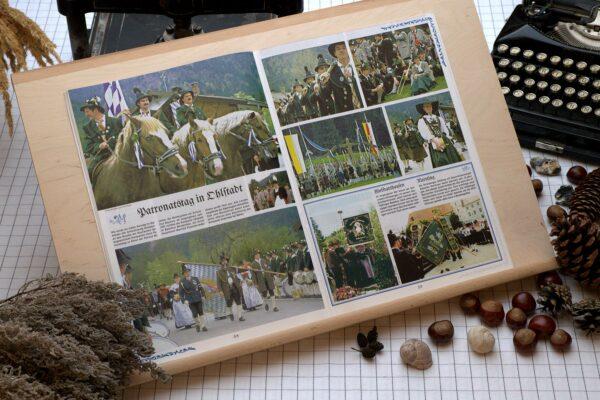 Der Oberbaierische Kalender 1998 mit vielen Fotos
