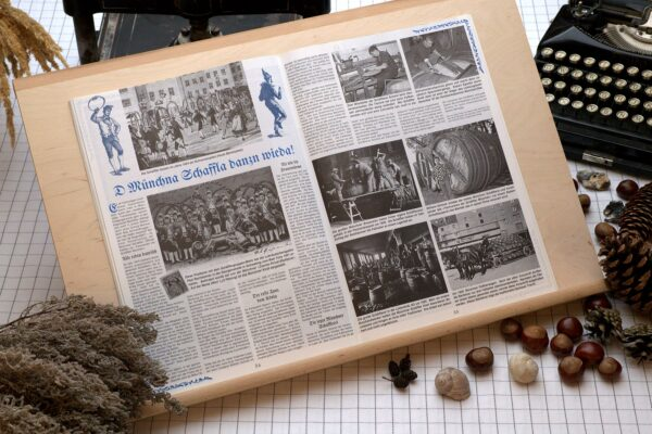 Der Oberbaierische Kalender 1998 Innenseite