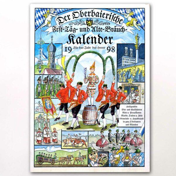 Der Titel des Oberbaierischen Kalenders 1998
