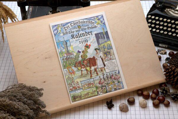 Titel des Oberbaierischen Kalenders 1999