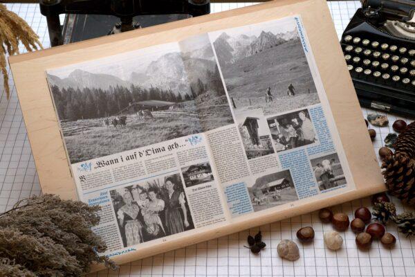 Der Oberbaierische Kalender 1999 mit vielen Fotos