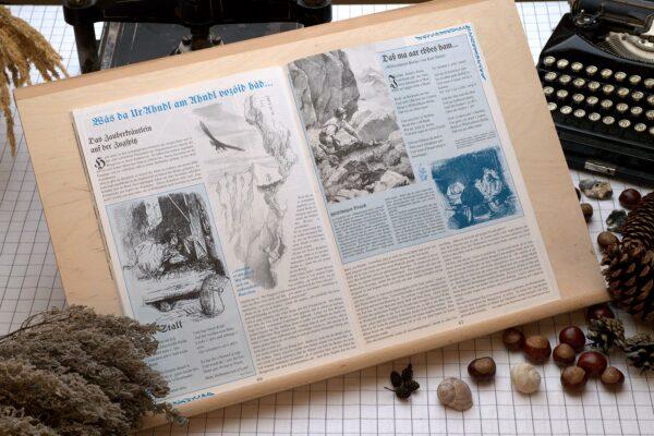 Der Oberbaierische Kalender 1999 Innenseite