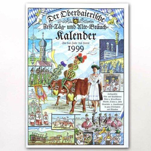 Der Titel des Oberbaierischen Kalenders 1999