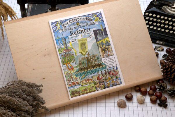 Titel des Oberbaierischen Kalenders 2001