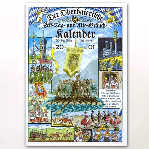 Der Titel des Oberbaierischen Kalenders 2001