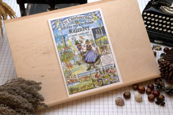 Titel des Oberbaierischen Kalenders 2003