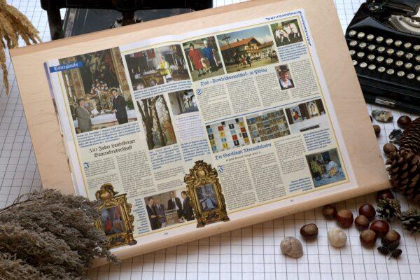 Der Oberbaierische Kalender 2003 Innenseite