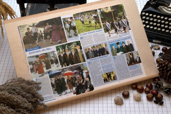 Der Oberbaierische Kalender 2003 mit vielen Fotos