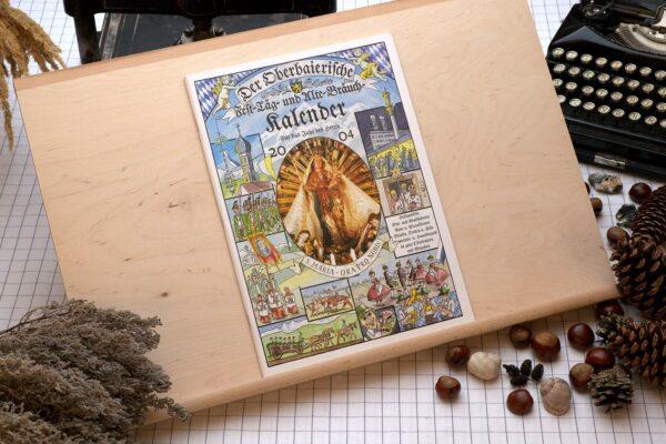 Titel des Oberbaierischen Kalenders 2004