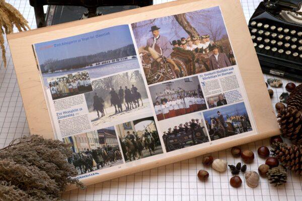 Der Oberbaierische Kalender 2004 mit vielen Fotos