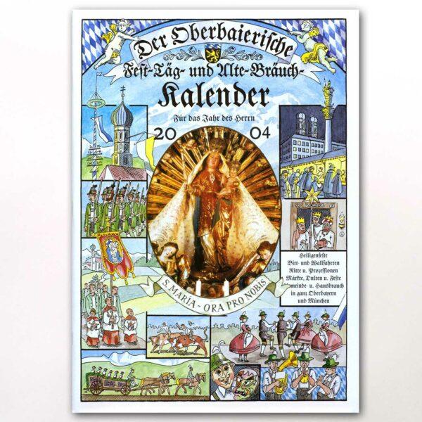 Der Titel des Oberbaierischen Kalenders 2004