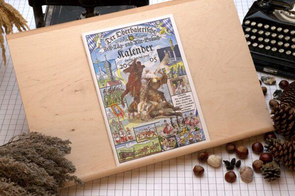 Titel des Oberbaierischen Kalenders 2005