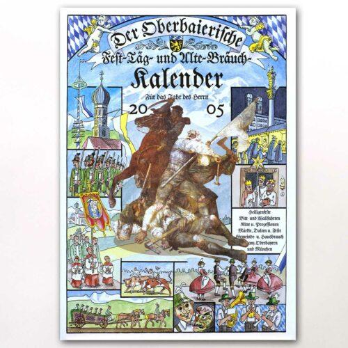 Der Titel des Oberbaierischen Kalenders 2005