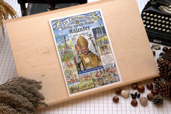 Titel des Oberbaierischen Kalenders 2006