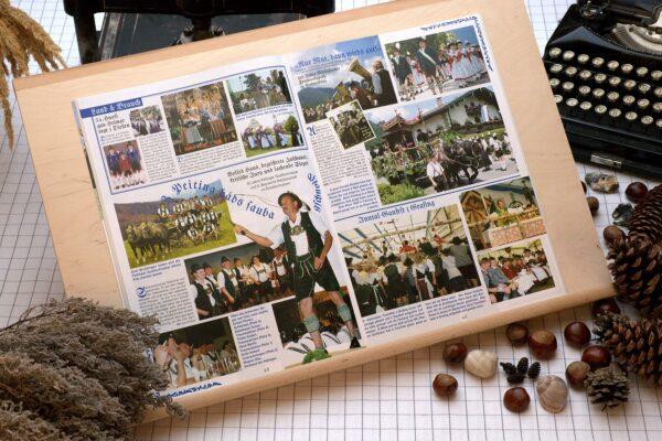 Der Oberbaierische Kalender 2006 mit vielen Fotos