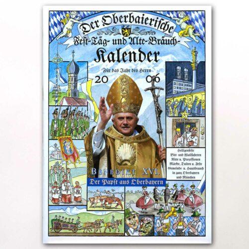 Der Titel des Oberbaierischen Kalenders 2006