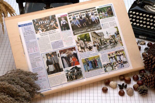 Der Oberbaierische Kalender 2007 mit vielen Fotos