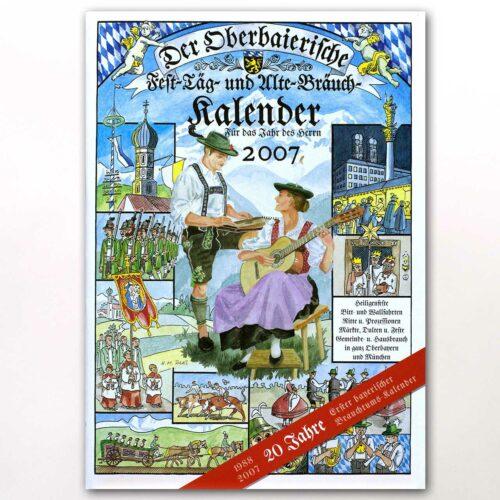Der Titel des Oberbaierischen Kalenders 2007