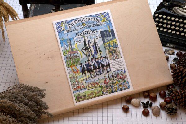 Titel des Oberbaierischen Kalenders 2008