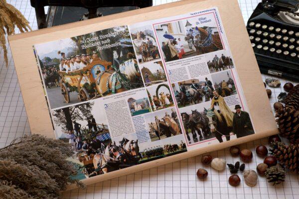 Der Oberbaierische Kalender 2008 mit vielen Fotos