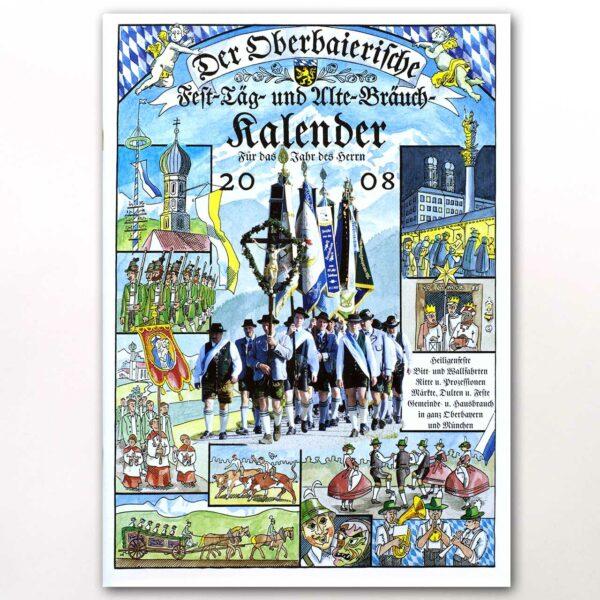 Der Titel des Oberbaierischen Kalenders 2008