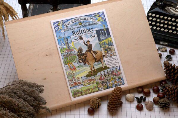 Titel des Oberbaierischen Kalenders 2009