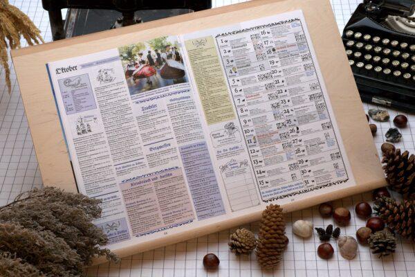 Der Oberbaierische Kalender 2009 Innenseite